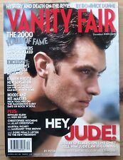 VANITY FAIR DEC 2000 JUDE LAW BILL CLINTON J.K. ROWLING JANE FONDA TIGER WOODS