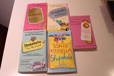 Sophie Kinsella Lot of 5 Books: Confessions of a Shopaholic Series & Secret