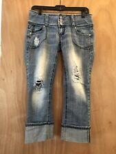 Women's Almost Famous Cropped Jeans Size 5