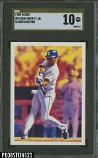 1989 Score Gold Label #30 Ken Griffey Jr. Mariners RC Rookie HOF SGC 10 GEM MINT