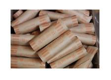 500 Quarter Preformed Shotgun Wrapper Coin Storage MMF Bank Tube Rolls Quarters