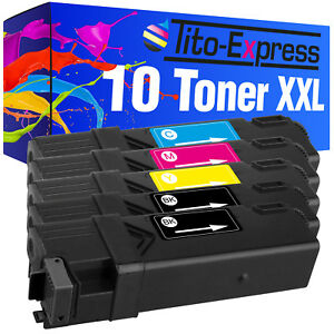 10 Toner XXL PlatinumSerie für Epson Aculaser C2900 C2900N C2900DN CX29 DNF CX29