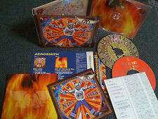 AEROSMITH / nine lives + box of fire /JAPAN LTD 2CD OBI digipack