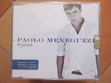 """CD singolo Paolo Meneguzzi """"MUSICA"""" usato ma in ottime condizioni"""