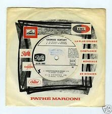 45 RPM EP TEST PRESSING GEORGES GUETARY 50 MILLIONS DE FRANCAIS