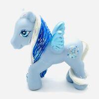 My Little Pony G3 Crystal Princess Pegasus Ponies Blue MLP Silver Glow