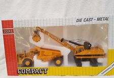 joal compact series 1/50 caterpillar dump truck and crane ref 380