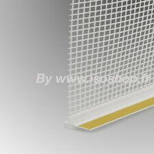 Profilé de protection avec Fibre de verre  portes fenetres PVC 9mm 30 pc 72 ml