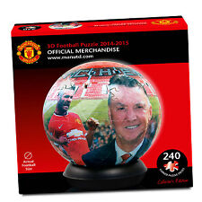 3D PUZZLE BALL MANCHESTER UNITED PAUL LAMOND JIGSAW 240 PIECES