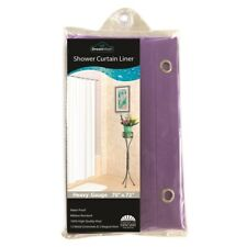 Vinyl Shower Liner With Magnets and Grommets, Purple