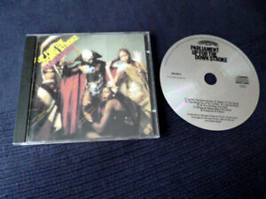CD Parliament - Up For The Down Stroke 1974 George Clinton P-FUNK 842 619-2 USA
