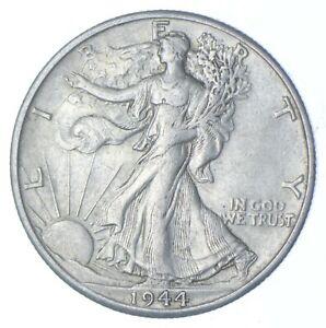 1944-D Walking Liberty 90% Silver US Half Dollar *867