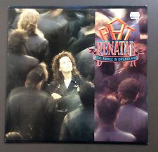 PAT BENATAR - Wide Awake In Dreamland Vinyl LP Record VG 1988 USA Pressing