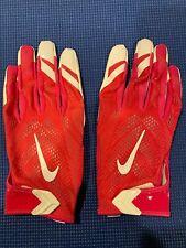 Nike Vapor Nfl Issued Football Skill Gloves Pfg396-616 Pink Bca 3Xl New