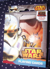 BRAND NEW Disney Star Wars Rebels Playing Cards In Collector's Metal Tin Case