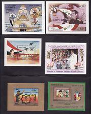 Iraq 32 mnh stamp s/s and blocks saddam 1980s-2000s