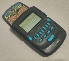 Radica Solitaire Klondike Vegas Handheld Travel Game Model #3620 Flip Top Cover