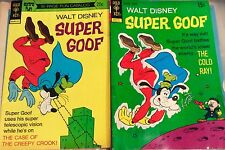 (2) SUPER GOOF Comic Books