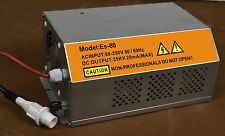 New CO2 Laser Tube Power Supply Engraver Cutter 80W AC 90-250V