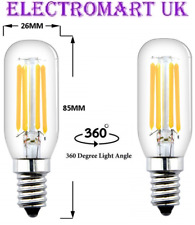 2 X 4W SES E14 SES SMALL SCREW LED COOKER HOOD FRIDGE FREEZER LAMP BULB 4000K