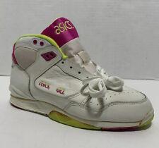 Vintage 1980s Asics Sneakers Gel Xx Sl 06 Never Worn Sz 9W Pink Neon Green