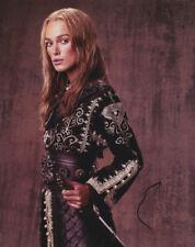 Keira Knightley Pirates of The Caribbean Signed Autograph 8x10 Photo COA #1