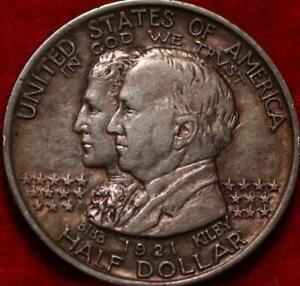 1921 Alabama Silver Half Dollar