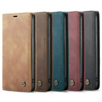 iPhone Leder Tasche Schutzhülle Hülle Flip Case Cover X XS XR 11 12 Pro Max Mini