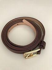 J.CREW Patent Maroon/Wine Belt S