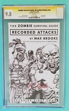 ZOMBIE SURVIVAL GUIDE #nn CGC 9.8 SS - signed by Max Brooks - World War Z