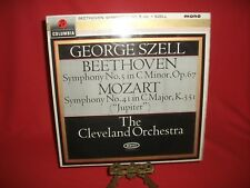 GEORGE SZELL-BEETHOVEN SYMPH NO.5-MOZART SYMPH NO.4-COLUMBIA 33CX1912-1ST CEMI