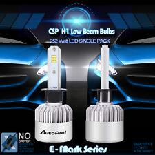 2x H1 PHILIPS 252W Bulbs 6000K White 25200LM LED Headlight Kits Low Beam Lamp