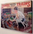 Lionel 1926 Catalog Cover Classic Lionel Canvas Print Gift For Anytime 9-31016
