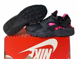 Nike Air Huarache 'Coral Black' Shoes 318429-055 Men's Size 7 / 8.5w No Lid