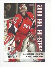 2007-08 AHL All-Stars #17 Michael Leighton (Utica Comets)