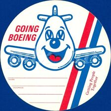 GOING BOEING ADDRESS NAME GETTING PEOPLE TOGETHER STICKER