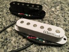 ENTWISTLE X3 DOUBLE RAIL CERAMIC PAF HUMBUCKER NECK BRIDGE oder SET BLACK HEAVY