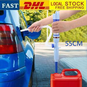 Elektrische Siphon Pumpe Batteriepumpe Kanisterpumpe Umfüllpumpe Diesel Blau DHL