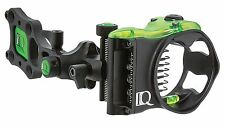 New IQ Retina Lock Micro Bow Sight 7 Pin (.019) Archery Compound RH Black
