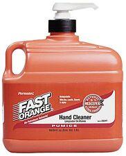 Permatex Orange Pumice Hand Cleaner Dirt Oil Soap Grease Mechanic Shop 1/2 Gal
