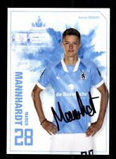 Marco Mannhardt Autogrammkarte TSV 1860 München 2020-21 Original Signiert