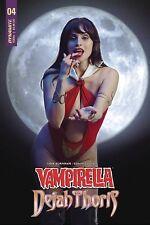 VAMPIRELLA DEJAH THORIS #4 CVR E VAMPIRELLA COSPLAY  PREORDER FOR MIDDECEMBER