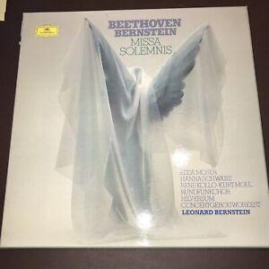 Beethoven- Missa Solemnis 2 LP Box Bernstein 958f