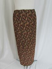 Express Long Pleated Floral Skirt Size S