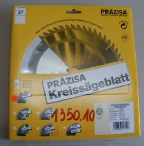 HM-Sägeblatt Handkreissäge, Marke Präzisa D-180 mm, B-20 mm, Z-12 FZ