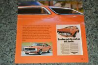 ★★1970 AMC AMX JAVELIN PICTURE FEATURE PRINT PHOTO 70 390 ENGINE★★2