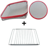 UNIVERSAL Large Pizza & Chip Basket Crisper + Oven Cooker Tray Shelf Guards