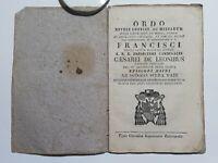 Messale? Di Isidoro Serra Vadi Dedica al Cardinale Francesco Cesarei Leoni 1824