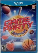 Game Party Champions Nintendo Wii U Video Game with instructions Used 2012