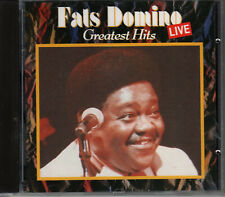 CD - Fats Domino – Greatest Hits Live
